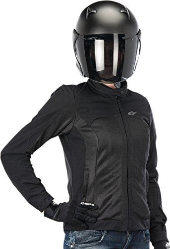Alpinestars Eloise Air Women's Riding Jacket (Black, Medium) (Alpinestars Armor Jacket)
