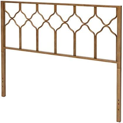 home, kitchen, furniture, bedroom furniture, beds, frames, bases, headboards, footboards,  headboards 11 image In Style Furnishings Classic Geometric Metal Honeycomb Headboard promotion