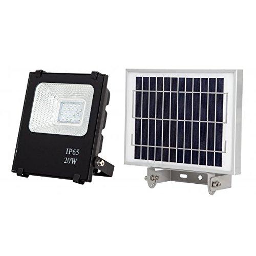 Proyector Solar 20w 6500k Oraculo Negro (17x15,5x5) (24x18x2 ...