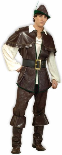 Robin Costume Design (Forum Novelties Men's Designer Collection Robin Hood Costume, Brown, Small)