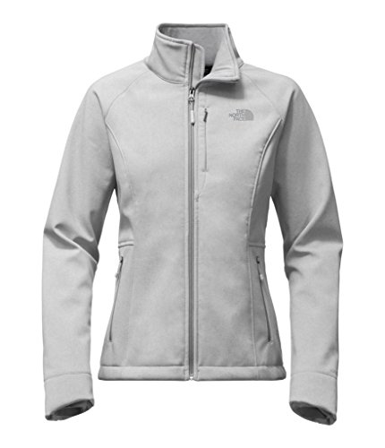 (The North Face Women's Apex Bionic 2 Jacket TNF Light Grey Heather/Mid Grey/Mid Grey Small)