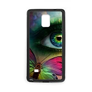 DIY Protective Hard Plastic Case for Samsung Galaxy Note4 - Butterfly Eyes customized case at CHXTT-C