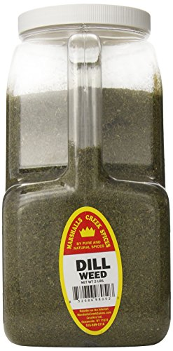 Marshalls Creek Spices XXL Restaurant Size Spice Jug, Dill Weed, 2 Pound by Marshall's Creek Spices