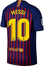 242d6f2ce3 Nike Barcelona Kids Home Messi 10 Jersey 2018 2019 (Official Printing) -  158-170