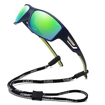100 Classic Polarized Sports Sunglasses TR90 Unbreakable Frame for Men Women Running Cycling Fishing Golf Baseball 2518C3