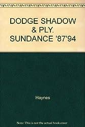DODGE SHADOW & PLY. SUNDANCE '87'94