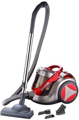 Fatboy 2500 Watt 5 Litre Bagless Cyclone Cyclonic Cylinder Vacuum Cleaner Hoover In A Gorgeous Ferrari Rosso Red Colour Amazoncouk Kitchen Home
