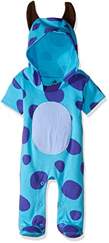 Disney TYM4606 Pijama Entero para Bebés, color Azul, 18