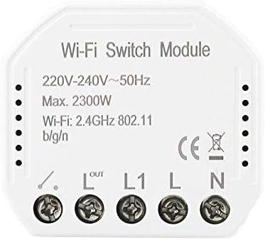 WXQ-XQ 無線LANインテリジェントライトスイッチ - DIYブレーカモジュールAPPリモートコントロール 遮断器