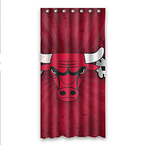 ZXXQE Personalized NBA Chicago Bulls Waterproof Shower Curtain Polyester Bath 36 X 72 Amazonca Home Kitchen