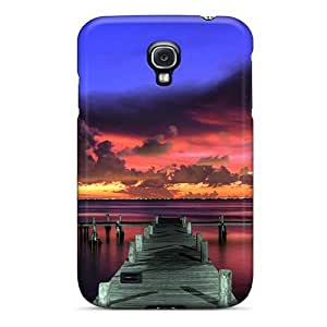 Brand New S4 Defender Case For Galaxy (colorful Summer Sunset) by icecream design