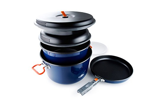 GSI Outdoors - Bugaboo Base Camper, Superior Backcountry Cookware Since 1985, Large
