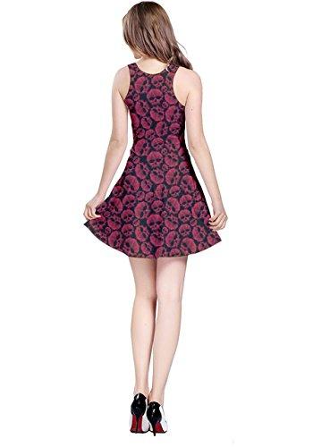 CowCow - Vestido - para mujer rojo & negro