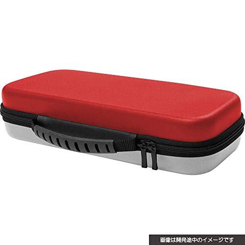 (닌텐도 스위치 포켓몬스터) Nintendo Switch CYBER ・ 대용량 carrying 케이스 Plus ( SWITCH 용) 레드 × 화이트