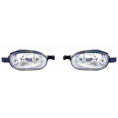 CarLights360: Fits 2002-2009 GMC ENVOY Signal Corner Light Pair Driver and Passenger Side (NSF Certified) Replaces GM2548101 GM2549101