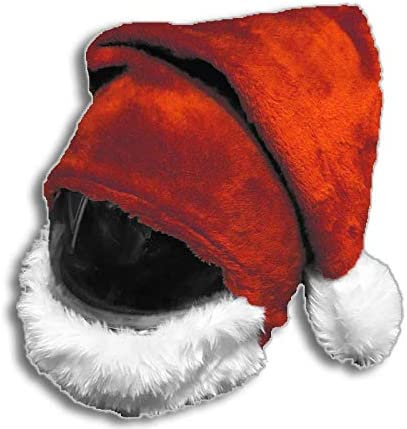 Amazon.es: Cubre Casco Santa, Funda para Casco de Moto (Rojo)