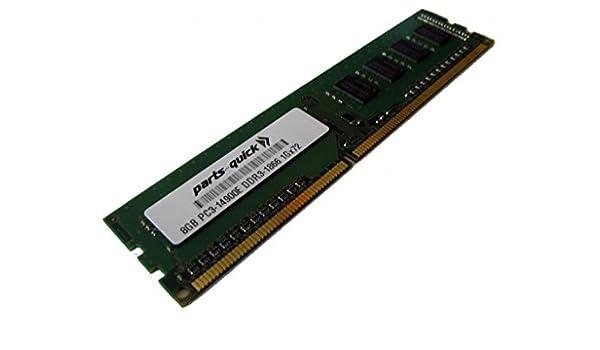 Memory RAM 8GB DDR3 PC3-14900 1866MHz RDIMM HP 708639-B21 Equivalent