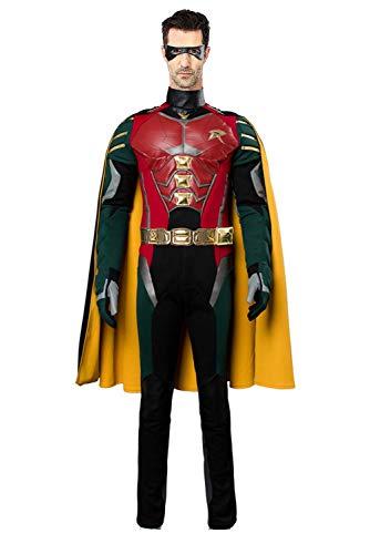 Robin Cosplay - COSMOVIE Halloween Robin Costume for Teen