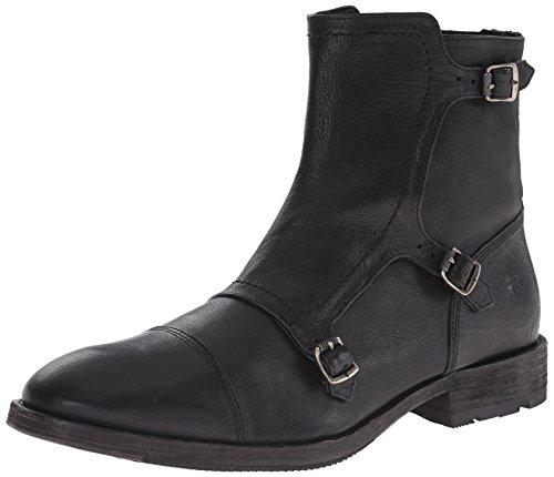 FRYE Mens Ethan Triple Monk Boot Black - 88118 GcfXTIxb2v