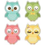 Nourish Owl Family Fridge Magnet …