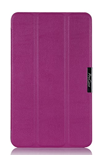 - ProCase 2014 version ASUS MeMO Pad 8 (ME181C) Tablet Case, SlimSnug Cover, Ultra Slim and light, Hard Shell, with Stand (Purple)
