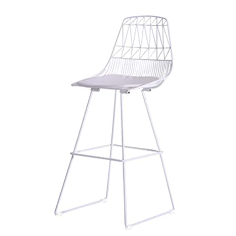 Excellent Amazon Com Fjie Home Furniture Nordic Wrought Iron Bar Unemploymentrelief Wooden Chair Designs For Living Room Unemploymentrelieforg
