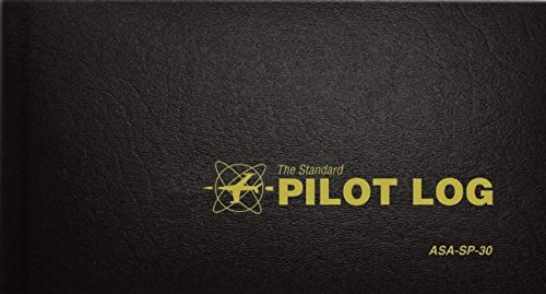 The Standard Pilot Log (Black): ASA-SP-30 (Standard Pilot Logbooks)