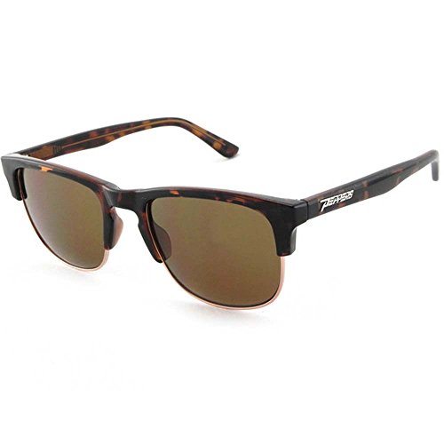Peppers Polarized Sunglasses The Bowery Shiny Dark Tortoise with Brown - Sunglasses Bowery