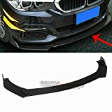 Universal Front Bumper Lip Splitter for Honda BMW Audi Protection Splitter Spoiler, Black