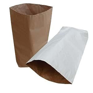 20x Natural Yuzet marrón papel marrón 3capas de saco de 55x 85cm 32kg