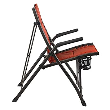 Timber Ridge Fraser Deluxe Bungee Chair, Red