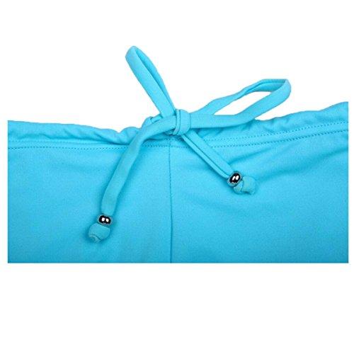Pantalones De Traje De Baño De La Sra LIMEI Blue