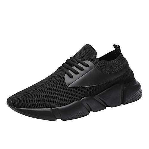 Shoe Kundork Volleyball Men Fashion Running Walking 01022black for Casual Aerobics Sport Mens Shoes Athletic Sneakers Workout zzxwTHr