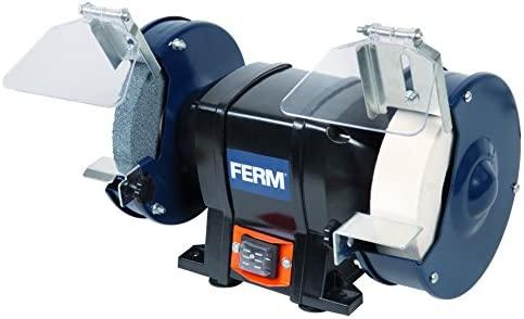FERM BGM1020 Amoladora (150 mm, 250 W, muela doble, 230 V ...
