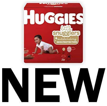 Huggies Little Snugglers Diapers, Size 1, 198 Count (Packaging May Vary) by Huggies (Image #1)