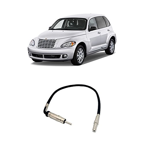 Adapter Chrysler Pt Cruiser - Fits Chrysler PT Cruiser 2002-2010 Factory to Aftermarket Radio Antenna Adapter