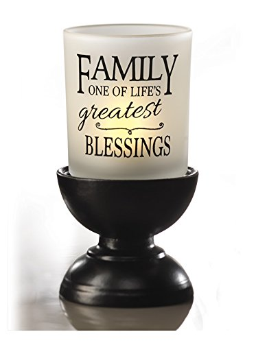 Dawhud Direct Family Blessings Votive Candleholder with Stand -