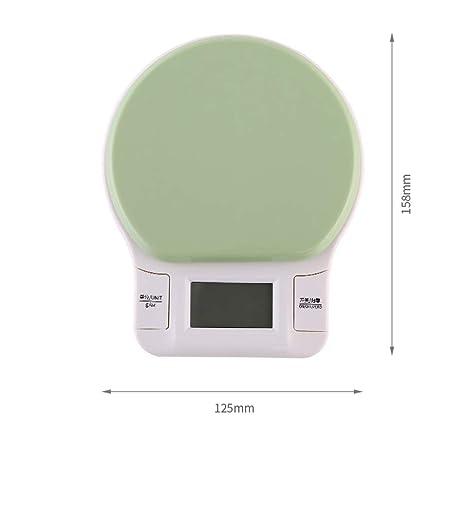ZHANGY Cocina Balanza Escala Balanzas electrónicas de precisión Menaje Mini hogar Pesar fácil de Llevar, A: Amazon.es