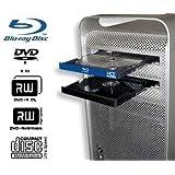 Mac Pro Blu-ray Drive: Internal Blu-ray Burner, Writer, Player for Apple Mac Pro Tower (Early 2009 thru Mid 2012) with Mac Blu-ray Player software!