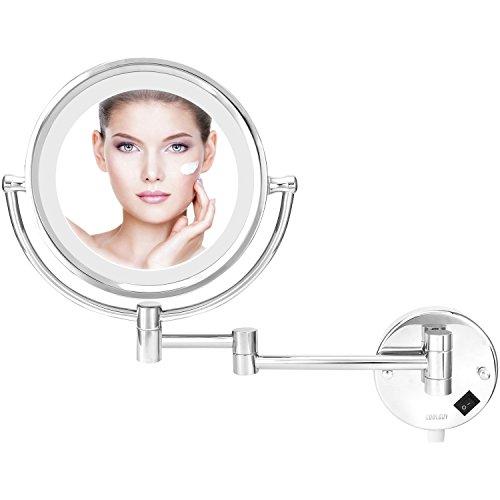 Lighted Makeup Mirror, Wall Mount Mirror , Wall Vanity Mirro