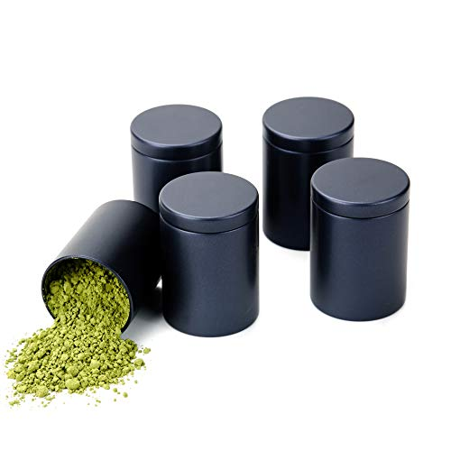 (Pack of 5 Tianhui Small Tin Can Boxes Φ1.85