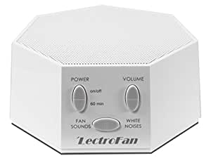 Adaptive Sound Technologies LectroFan High Fidelity White Noise Machine with 20 Unique Non-Looping Fan and White Noise Sounds and Sleep Timer