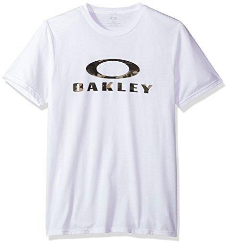 Oakley Men's 50-Stealth Ii, White, - Oakley Mens Shirts