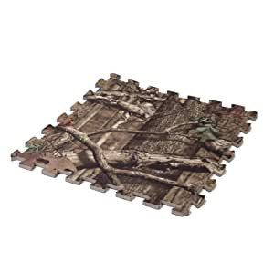 Mossy Oak Camo Fabric Laminate Anti-Fatigue Foam Floor