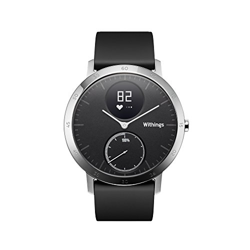 Withings Activite Steel Hr Black  Activite Steel Hr ,