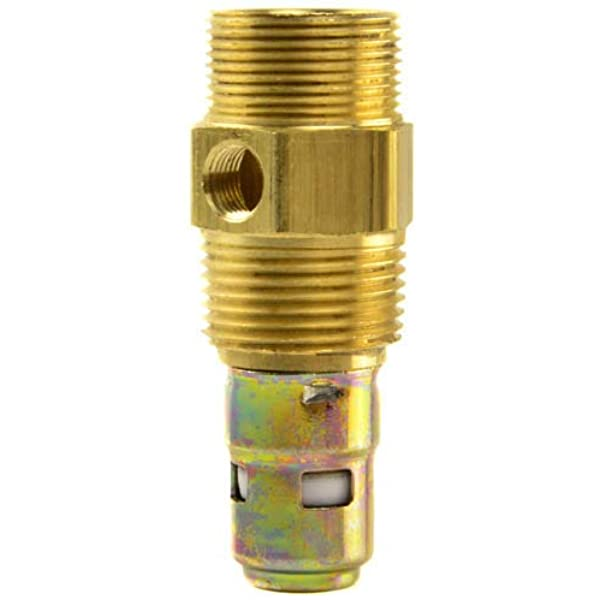 "Brass 3//8/"" Male Threaded NPT X 1//2/"" Air Compressor In Tank Check Valve"