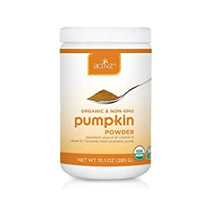 Organic Whole Food Pumpkin Powder By Activz