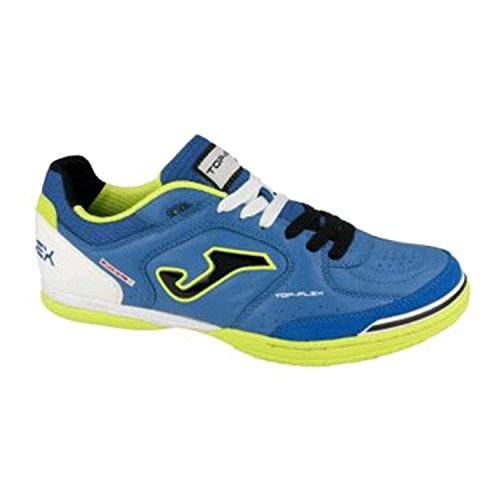 Joma top flex 704 royal indoor scarpe calcetto calcio a 5 uomo