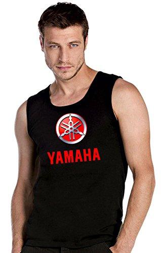 YAMAHA MOTORCYCLE Biker Motorrad Race schwarze Top Tank T-Shirt -2589