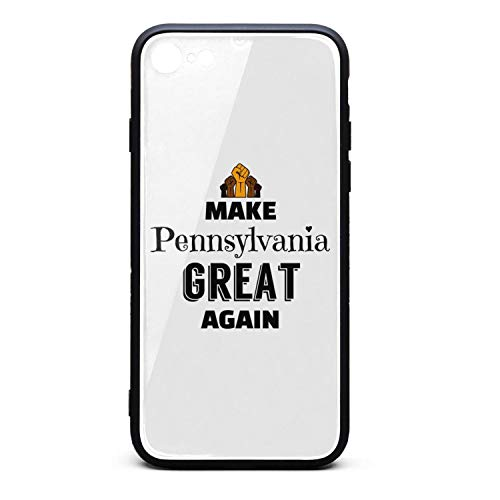 Make Pennsylvania Great Again-3 Fit Case for iPhone 7 and iPhone 8 Pretty Protective TPU Bumper Phone Accessories Compatible with iPhone 7 and iPhone 8 Case